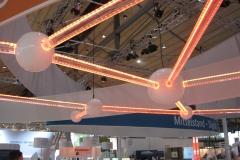 Acrylkonstruktion mit LED